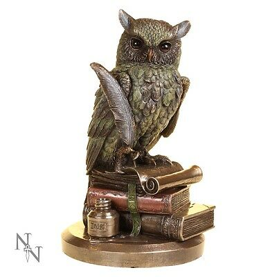 Nemesis Now New - Ulula - Owl 23cm figurine ornament collectable gift idea