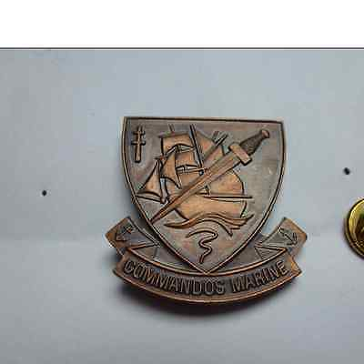 Pin's Reduction Insigne Beret Commando Marine