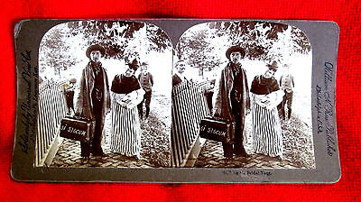 William H. Rau Stereoscope Stereoview Card Bridal Tour ms3c