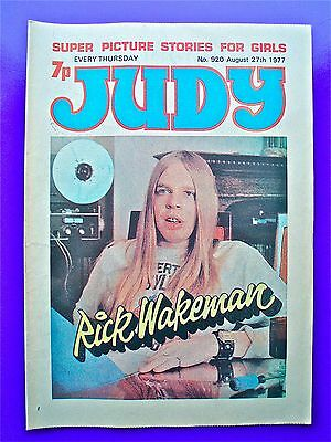Judy issue No.920, August 27th 1977 RICK WAKEMAN of many bands e.g. Strawbs, Yes