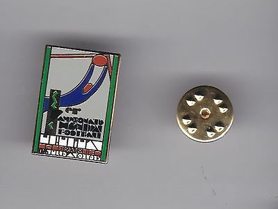 """Uruguay """" World Cup 1930 """"  - lapel badge butterfly fitting"""
