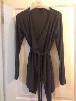 H & M Maternity Cardigan Size Small Grey