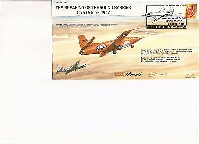 RAF CENTURY OF FLIGHT 42 The Breaking of the Sound Barrier Flown Cover