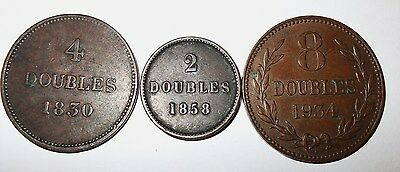 Guernsey  3  Coins From The Channel  Isle