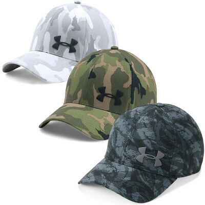 Under Armour Mens 2018 AirVent Core Breathable Stretch Curved Brim Cap
