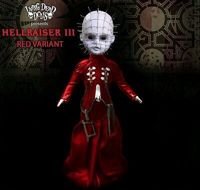 Living Dead Dolls Exclusive Variant Hellraiser 3 Hell On Earth Pinhead Mezco