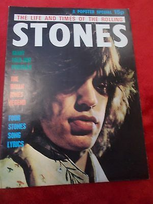 Rolling Stones Popster Special Fold Out Poster