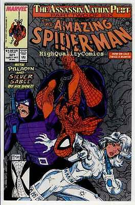SPIDER-MAN #321, VF+/NM, Paladin, Todd McFarlane, Amazing, 1963, more in store