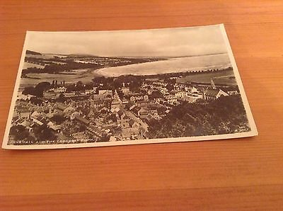Real Photograph postcard - Dingwall And The Cromarty Firth