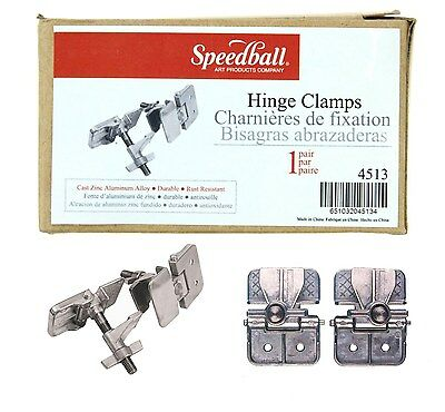 Speedball Screen Printing Hinge Clamp Pair