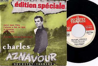 "EP 1956 MADE in FRANCE "" CHARLES AZNOVOUR  /  Edition Speciale "" PS"