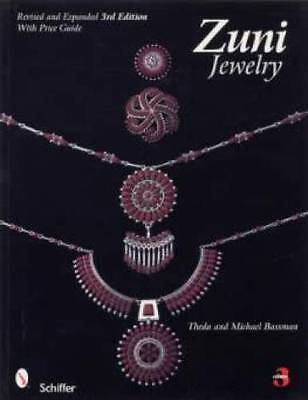 Zuni Jewelry ID book Native American Silver Turquoise +
