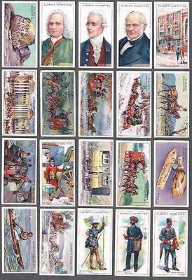 1914 Wm. Clarke & Son Cigarettes Royal Mail Tobacco Cards Complete Set of 50