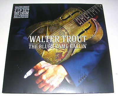 Walter Trout 'the Blues Came Callin' 2014 Stereo Double Lp Ex/ex