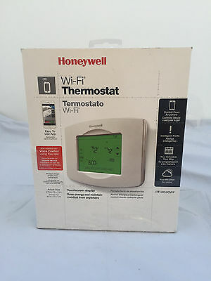 Honeywell WiFi Touch Screen 7-Day Programmable Smart Thermostat RTH8580WF