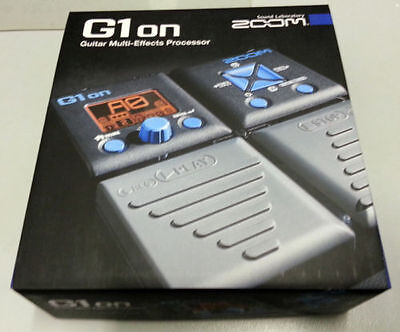Zoom G1on Guitar Multi-Effects Processor - OB NEW