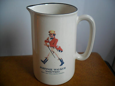 Collectable Johnnie Walker  Scotch Whisky Water Jug Unused