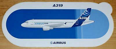 Original Official Airbus A319 Airliner Sticker Version 2