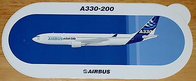 Original Official Airbus A330-200 Airliner Sticker