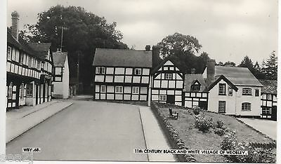 11th CENTURY BLACK AND WHITE VILLAGE OF WEOBLEY ----- TOP  85