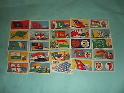 Amaran Tea Flags And Emblems - Full Set 25 Cards. Mint Condition.