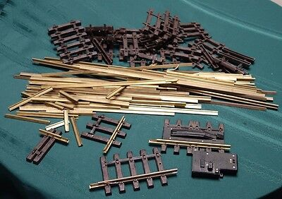 L.G.B. G Scale Flexgleis Mixed Lot Brass Rail