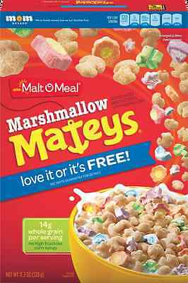 2 American Marshmallow Mateys Cereal (Lucky Charms) Big Boxes UK Seller
