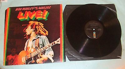 Bob Marley And The Wailers Live LP - Live! A-3/B-2. Near Flawless Playing Order.