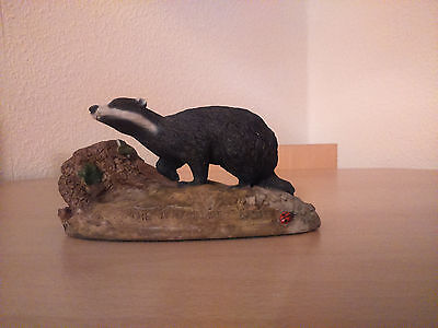 North Light Badger figurine - The North Light Badger by Anne Godfrey
