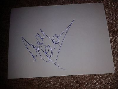 Rangers Andy Goram HAND SIGNED card
