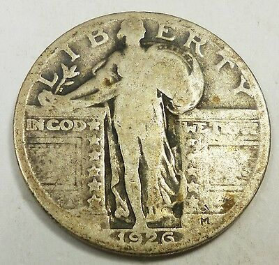 1926 United States Standing Liberty Quarter - G Good Condition