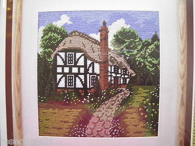 TUDOR COTTAGE ~ Tapestry KIT-Twilleys of Stamford (INCLUDES ALL THREAD)