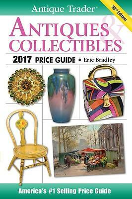2017 Antique Trader Antiques Collectibles Price Guide ~5000 COLOR Photos Krause