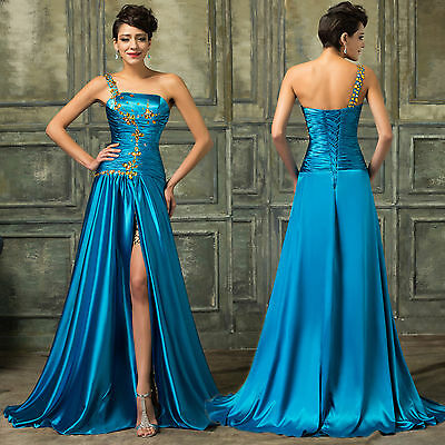 Women Long Formal Prom Dress Evening Cocktail Party Gown Bridesmaid Dress NEW
