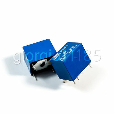 5 pcs JRC-21F(4100) 12V DC SRS-12VDC-SL Power Relay 6 PIN