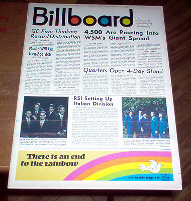Billboard Magazine 1966 The Hollies Mamas & Papas Del Shannon Ads Supremes #1