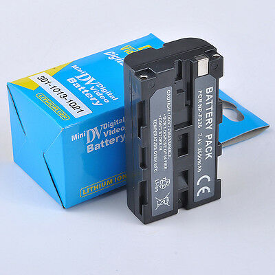 Camcorder Battery NP-F550 for Sony NP-F330 NP-F530 NP-F570 NP-F730 NP-F750 CA