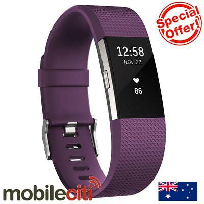 Fitbit Charge 2 Heart Rate + Fitness Wristband Small - Plum