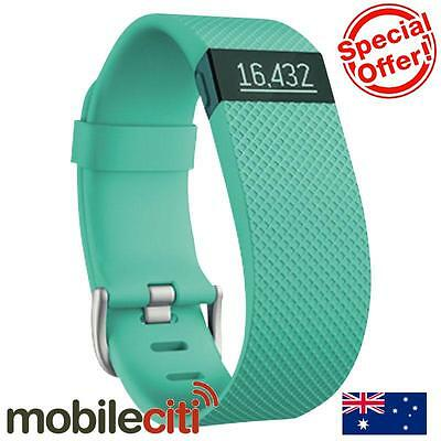 Fitbit Charge HR Heart Rate Activity Wristband Teal - Small