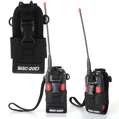Universal Nylon Walkie Talkie Accessories Bag Case for Baofeng Two Way Radio