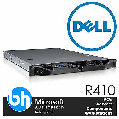 Dell PowerEdge R410 2x Xeon Quad Core E5620 24GB RAM H200 Rackable 1U Servidor