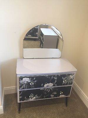 Dressing Table  With Mirror Shabby Ch