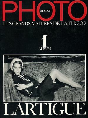 "Album PHOTO : Les Grands Maitres De La Photo Volume 1 ""LARTIGUE"""