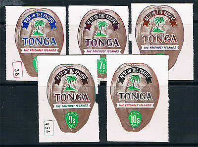 Tonga 1969 Official stamps SG 050/4 MNH