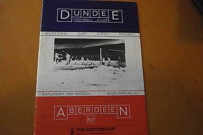 Dundee V Aberdeen                       Scottish Cup                      8/3/86