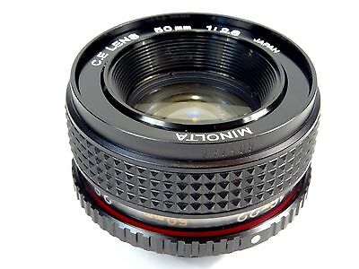 MINOLTA (C.E.Rokkor) 50mm f2.8 Enlarging Lens - Superb condition with Case!