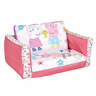 Peppa Pig Flip Out Mini Sofa Kids New 100% Official