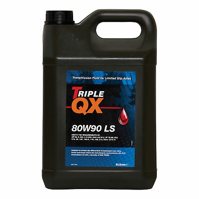 5 Litres 5L Triple QX 80W90 LS Mineral Based Transmission Gearbox Gear Oil