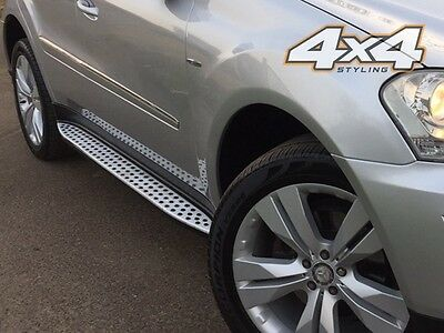 For Mercedes ML W164 2005 - 2012 Side Steps Running Boards Set