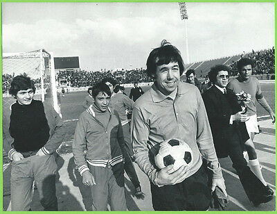 Press Photo 1/3 1973 Olympiakos v Stoke City Gordon Banks (a)